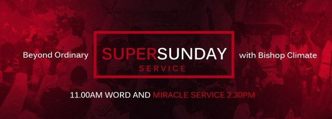 Super Sunday Services